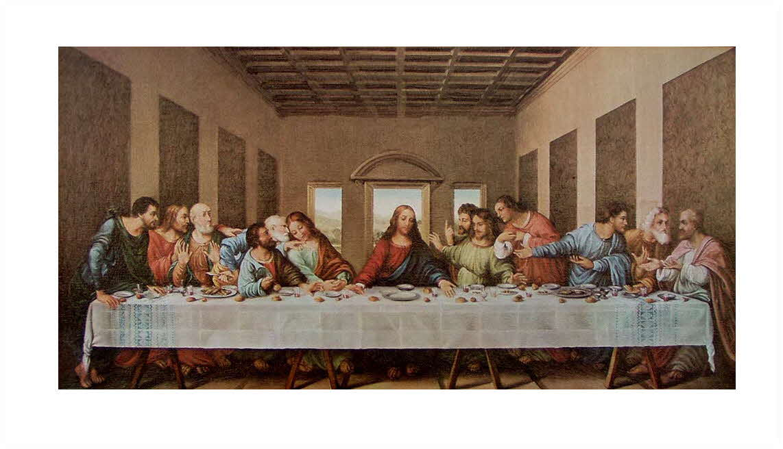 last supper canvas only lg03