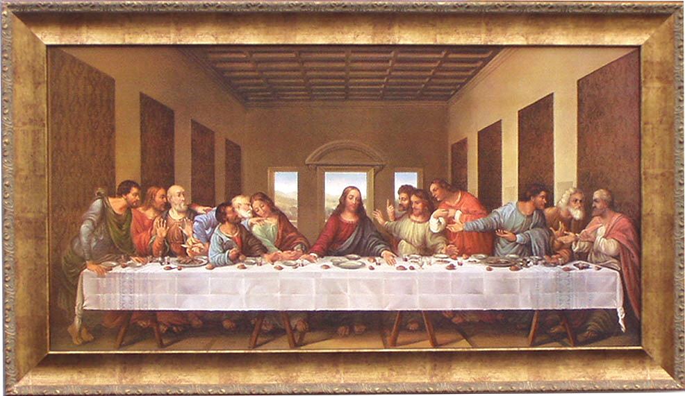last supper leonardo da vinci New claims that leonardo da vinci's the last supper contains a hidden image of a woman holding a child are provoking a storm of interest on the internet.