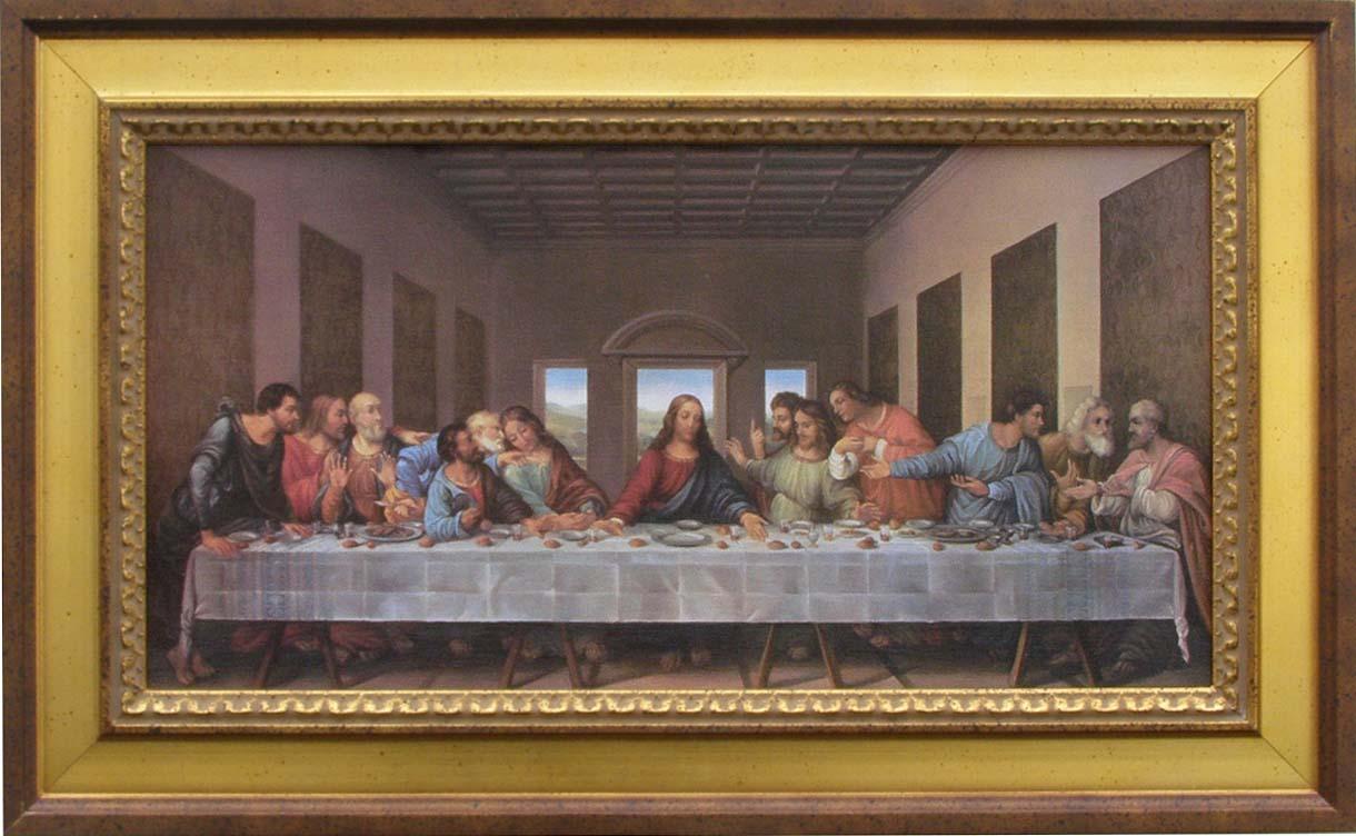 the gallery for gt the last supper da vinci restored